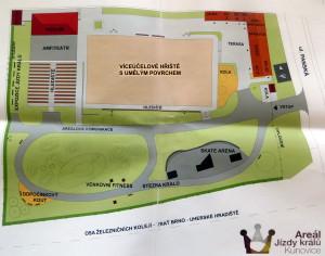 Areal JK - mapa
