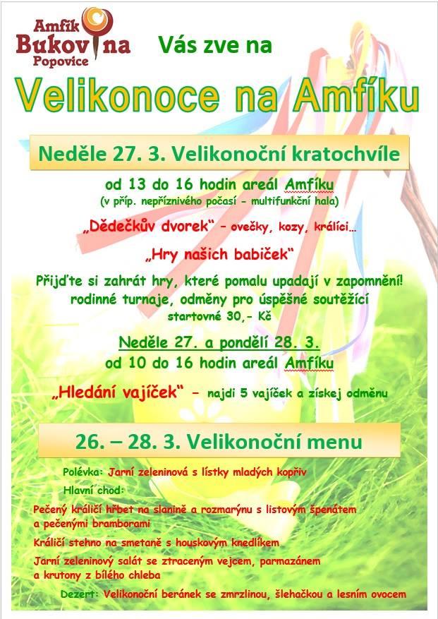 Velikonoce na Amfíku Bukovina - Popovice