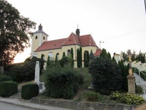 Kostel Hradčovice
